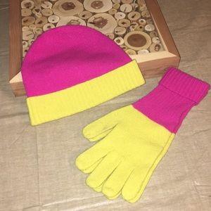J. Crew Toboggan & Gloves